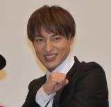 劇場版『仮面ライダージオウ Over Quartzer』公開記念舞台あいさつに参加したDAICHI (C)ORICON NewS inc.