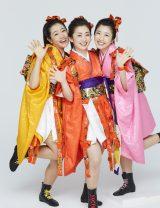 NHK『演歌フェス2019』に出演するみちのく娘 !(工藤あやの 津吹みゆ 羽山みずき) (C)NHK