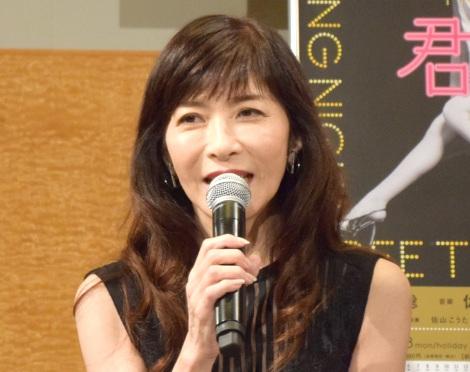 舞台『君の輝く夜に 〜FREE TIME, SHOW TIME〜』のトークイベントに出席した安寿ミラ (C)ORICON NewS inc.