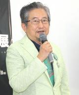"""『画業50年""""突破""""記念 永井GO展』の取材会に出席した永井豪 (C)ORICON NewS inc."""