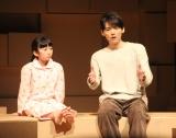 舞台『神の子どもたちはみな踊る after the quake』プレスコールに出演した(左から)横溝菜帆、古川雄輝 (C)ORICON NewS inc.