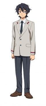 「ガンダムビルドシリーズ」最新作『ガンダムビルドダイバーズRe:RISE』のキャラクター・ヒロト(制服姿)(C)創通・サンライズ