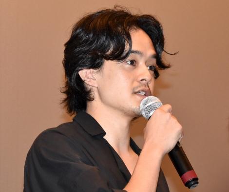 映画『町田くんの世界』ティーチインイベントに出席した池松壮亮 (C)ORICON NewS inc.