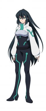 「ガンダムビルドシリーズ」最新作『ガンダムビルドダイバーズRe:RISE』のキャラクター・メイ(C)創通・サンライズ