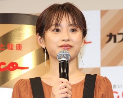 『カフェオーレの日』PRイベントに出席した高橋愛 (C)ORICON NewS inc.