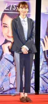 日本初のシネマコマース型ブランド『CAST:』の完成披露試写会に登壇した飯豊まりえ (C)ORICON NewS inc.