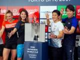『世界水泳』2冠の瀬戸選手が凱旋
