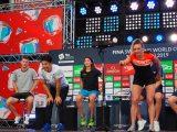 『競泳ワールドカップ2019東京』記者会見に出席した瀬戸大也選手とカティンカ・ホッスー選手 (C)ORICON NewS inc.