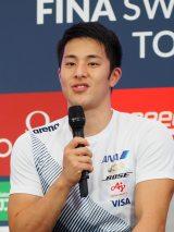 『競泳ワールドカップ2019東京』記者会見に出席した瀬戸大也選手 (C)ORICON NewS inc.