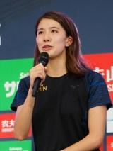 『競泳ワールドカップ2019東京』記者会見に出席した大橋悠依選手 (C)ORICON NewS inc.