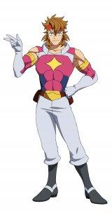 「ガンダムビルドシリーズ」最新作『ガンダムビルドダイバーズRe:RISE』のキャラクター・カザミ(C)創通・サンライズ