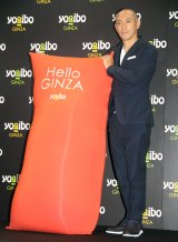 「Yogibo Store 銀座1丁目柳通り店」オープン記念トークショーに出席した市川海老蔵 (C)ORICON NewS inc.
