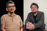 庵野秀明氏(左)と映画監督の樋口真嗣氏(右)。『シン・ゴジラ』のコンビで『シン・ウルトラマン』映画化。2021年公開予定(C)ORICON NewS inc.