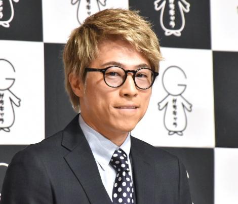 亮の会見後、初めて公の場に出席した田村淳=『株式会社がちキャラ』設立会見 (C)ORICON NewS inc.