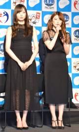 『知って、肝炎プロジェクトミーティング2019』に出席した乃木坂46(左から)梅澤美波、樋口日奈 (C)ORICON NewS inc.