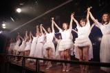 一夜限りの再結成を果たし、結成10年記念『誘惑のガーター』特別公演を開催したSDN48(C)AKS