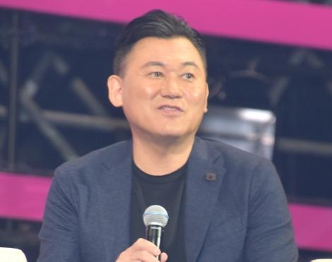 楽天の大型イベント『Rakuten Optimism』内で「スポーツビジネスの未来」と題したトークショーに参加した三木谷浩史氏 (C)ORICON NewS inc.