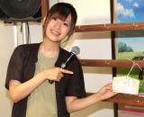 テレビアニメ『からかい上手の高木さん2』と京成電鉄のコラボエリアオープニングセレモニーに登場した高橋李依 (C)ORICON NewS inc.