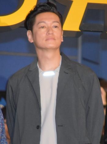 3DCGアニメ映画『ドラゴンクエスト ユア・ストーリー』の公開初日舞台あいさつに出席した井浦新 (C)ORICON NewS inc.