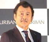 ビジネスブランド「ダーバン」の『D'URBAN50周年 広告キャラクター』就任発表会に出席した吉田鋼太郎 (C)ORICON NewS inc.