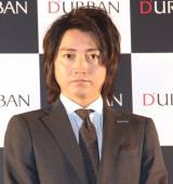 ビジネスブランド「ダーバン」の『D'URBAN50周年 広告キャラクター』就任発表会に出席した藤原竜也 (C)ORICON NewS inc.