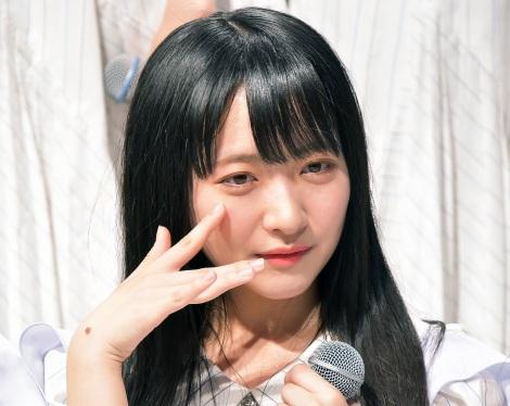 石田千穂=STU48 3rdシングル「大好きな人」発売記念イベント (C)oricon ME inc.