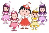 キャラクター画像 (左から)佐々木彩夏、百田夏菜子、まる子、玉井詩織、高城れに