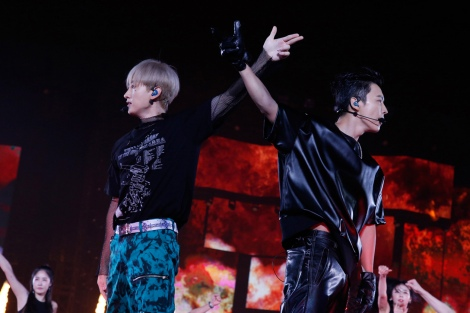 『SMTOWN LIVE 2019 IN TOKYO』の様子