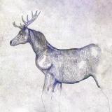 米津玄師が描き下ろした「馬と鹿」ジャケット写真