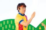 「じゃらん遊び体験」の新CMに出演する小林よしひさ(メイキングカット)