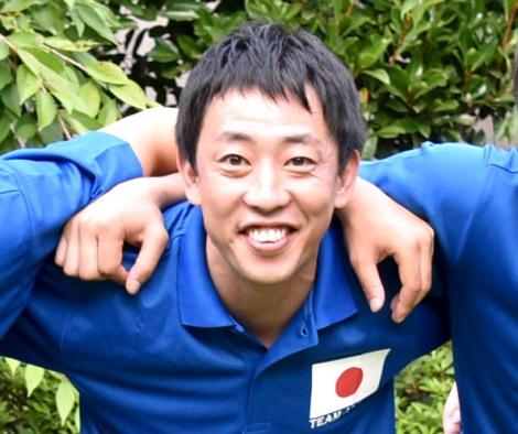 『モルック』の世界大会に出場する日本代表選手として壮行会に出席したさらば青春の光・森田哲矢 (C)ORICON NewS inc.