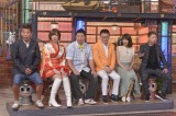 8日放送の読売テレビ・日本テレビ系バラエティー『ダウンタウンDX』の模様(小林麻耶は右から2番目)(C)読売テレビ