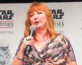 スター・ウォーズ世界巡回展『STAR WARS Identities: The Exhibition』のトークセッションに参加したレイラ・フレンチ氏 (C)ORICON NewS inc.