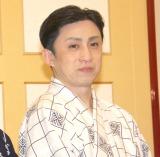 『八月納涼歌舞伎』の舞台けいこ後の囲み取材に登場した松本幸四郎 (C)ORICON NewS inc.