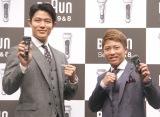 (左から)鈴木亮平、井上尚弥 (C)ORICON NewS inc.