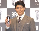 『BRAUNシリーズ9・シリーズ8 新製品PR発表会』に参加した鈴木亮平 (C)ORICON NewS inc.