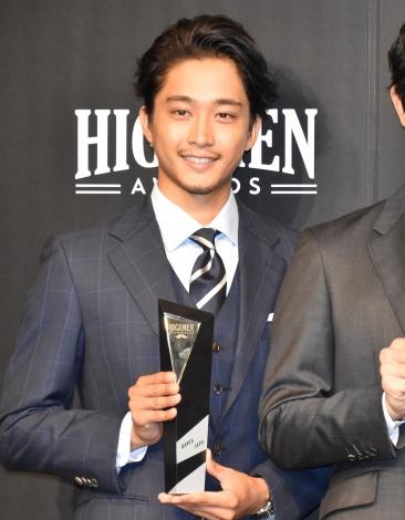 第1回『HIGEMEN AWARDS 2019』の表彰式に出席した佐藤寛太 (C)ORICON NewS inc.