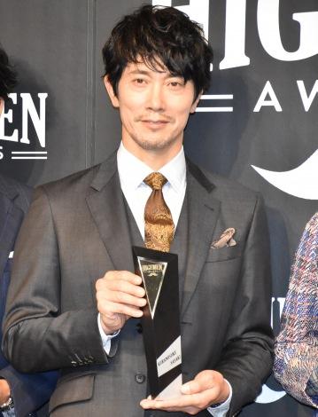 第1回『HIGEMEN AWARDS 2019』の表彰式に出席した佐々木蔵之介 (C)ORICON NewS inc.
