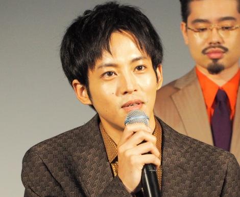 映画『HELLO WORLD』プロジェクト始動イベントに登壇した松坂桃李 (C)ORICON NewS inc.