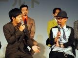 映画『HELLO WORLD』プロジェクト始動イベントに登壇した伊藤智彦監督(右) (C)ORICON NewS inc.