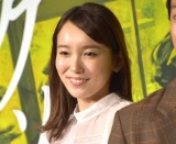 映画『惡の華』完成披露舞台あいさつに登壇した飯豊まりえ (C)ORICON NewS inc.