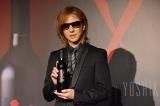 新作ワイン「Y by Yoshiki California」発表会&試飲会に登壇したYOSHIKI (C)oricon ME inc.