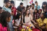 MIYAVI出演『SONGS』にメッセージを寄せるアンジェリーナ・ジョリー(C)UNHCR/Andrew McConnell