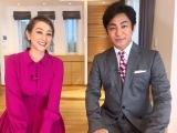 番組MCの片岡愛之助とSHELLY(C)テレビ東京