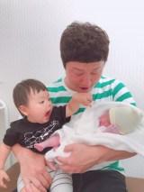 えとう窓口に第2子男児誕生