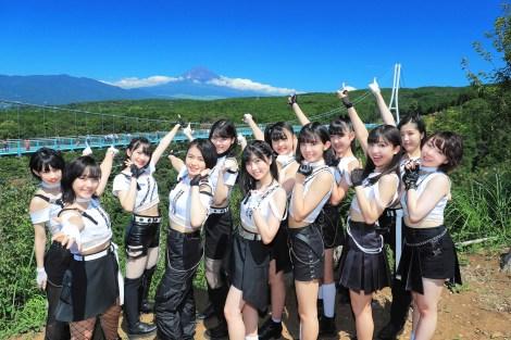 富士山にヒット祈願しメジャーデビューを迎えるBEYOOOOONDS