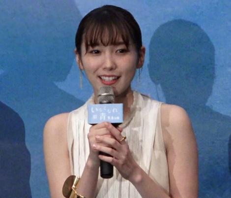 映画『いなくなれ、群青』完成披露試写会に出席した飯豊まりえ (C)ORICON NewS inc.