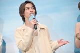 映画『いなくなれ、群青』完成披露試写会に出席した横浜流星
