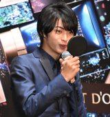 コフレドール『Twinkle Night Collection』PR大使就任発表会に出席した神尾楓珠 (C)ORICON NewS inc.