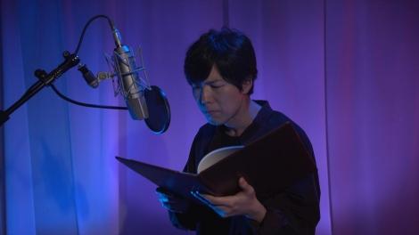 『声優?怪談』NHK総合で8月14日・15日放送(写真は第1夜「呪怨」神谷浩史(C)NHK